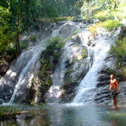Costa Rica Waterfalls - this one is in the area, but we're not going to tell you where... some things must remain secret.