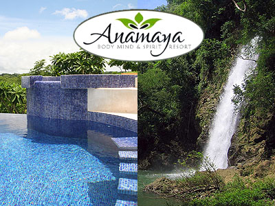 montezuma falls and anamaya swimming pool