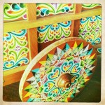Colorful Wagonwheels of Costa Rica