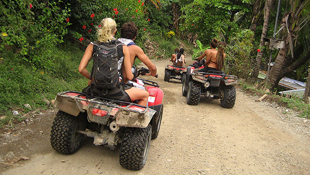 ATV/Quad Rentals and Tours in Montezuma - photo by Adam Tenenbaum