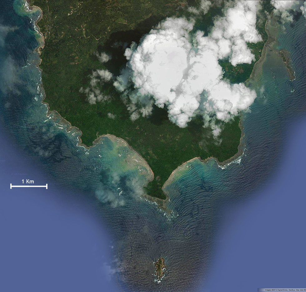 Cabo Blanco National Park Satellite Photo