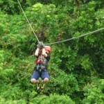 Canopy tour / zip lines in the southern nicoya peninsula