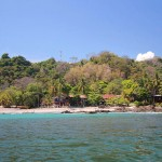 Coming into Montezuma by boat from Jaco, this is what you'll see.