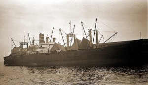 "Photo of the merchant ship ""Ocean Joyce"""