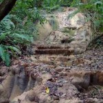 Limestone Waterfall in Cabuya