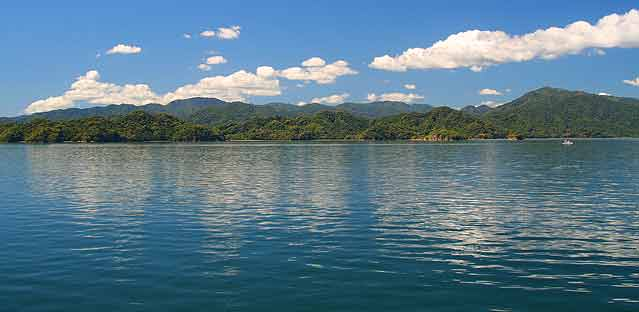 Gulf of Nicoya as seen from the ferry