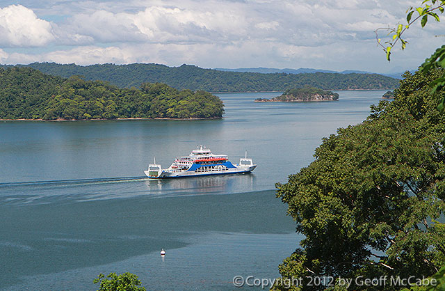 Costa Rica's Puntarenas to Paquera Ferry Line