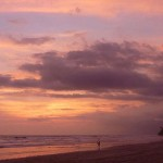 Playa Hermosa Sunset Surfer