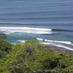 Sunset Reef epic surf break in Malpais