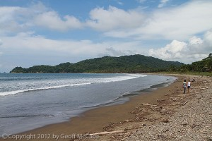 Playa Organos of the Southern Nicoya Peninsula