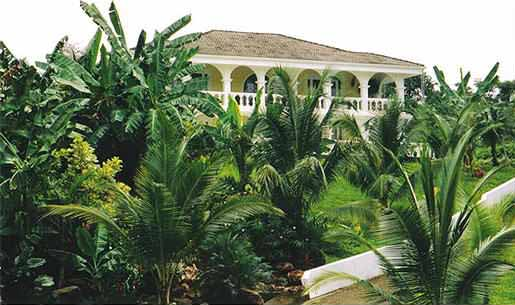 The Quebrada Estate exterior view