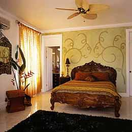 The Quebrada Estate master bedroom